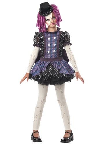 Disfraz de muñeca rota para niñas