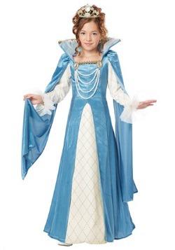 Disfraz de Reina del Renacimiento para niñas