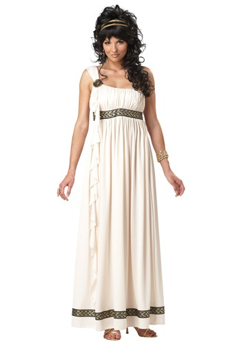 Disfraz de la diosa olímpica femenina