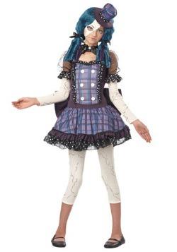 Disfraz de muñeca rota tween
