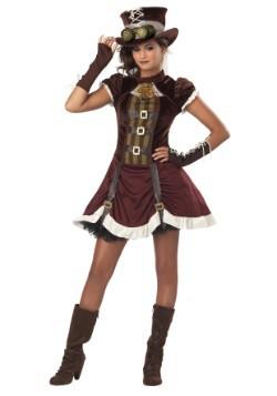 Disfraz de Tween Steampunk para niña