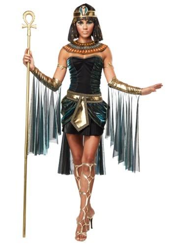 Disfraz de diosa egipcia de talla grande