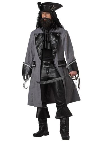 Disfraz de Pirata Barbanegra para hombre