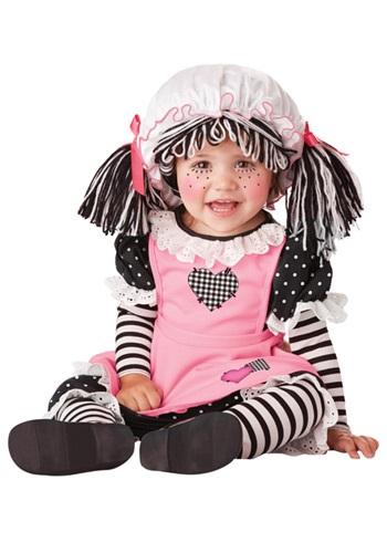 Disfraz de muñeca de trapo para bebé