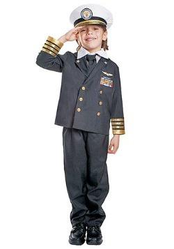 Disfraz de Almirante de la Marina Infantil