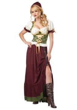 Disfraz de moza renacentista