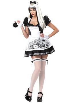 Disfraz de Alicia Oscura sexy