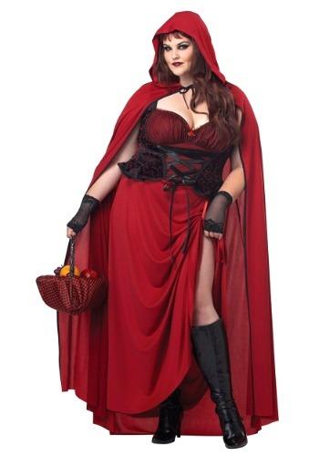 Caperucita Roja Más Tamaño