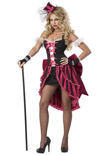 Disfraz de Showgirl parisina sexy