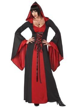 Toga con capucha de lujo para mujer