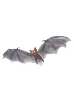 Colgante con iluminación de ojos de murciélago cafés
