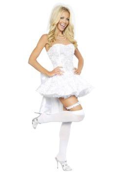 Disfraz de novia de fantasía para mujer