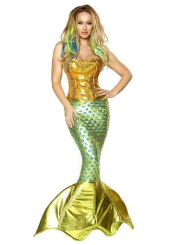 Disfraz de mujer de sirena marina