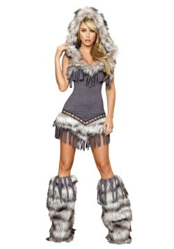 Disfraz de tentadora nativa americana para mujer