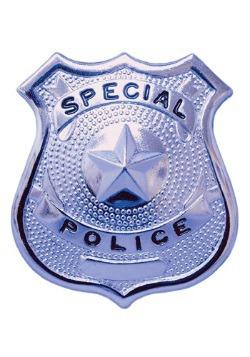 Insignia auténtica de policía