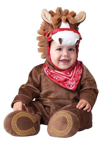 Disfraz de pony alegre para bebé