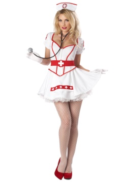 Disfraz de mujer enfermera rompecorazones