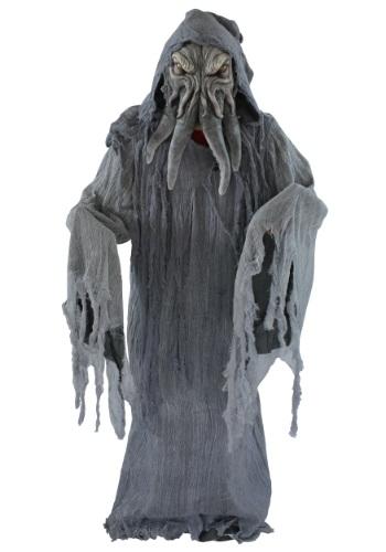 Disfraz de monstruo gris para adulto
