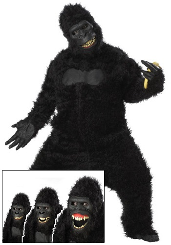 Disfraz de gorila Goin Ape para adulto