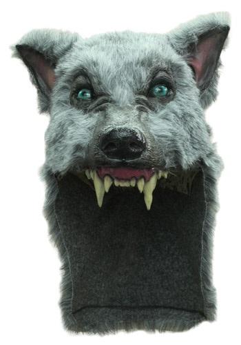 Casco de lobo gris
