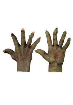 Manos verdes del mal para adulto