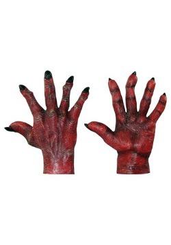 Manos rojas del mal para adulto