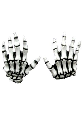 Manos de esqueleto blanco Junior