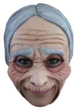 Máscara de anciana