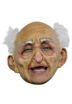 Máscara de anciano deluxe