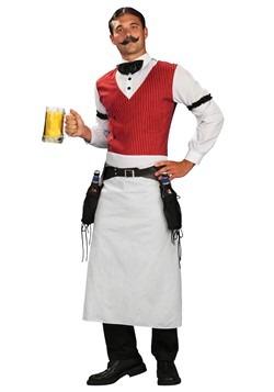 Disfraz de camarero de salón talla extra