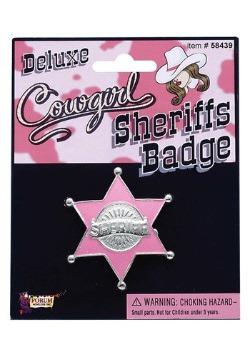 Distintivo rosa de comisario