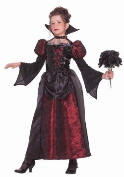 Disfraz de señorita vampiro para niñas