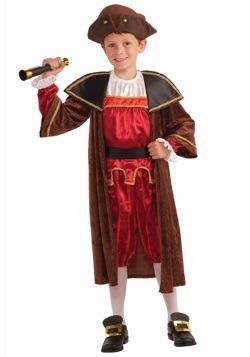 Disfraz de Cristobal Colón para niños