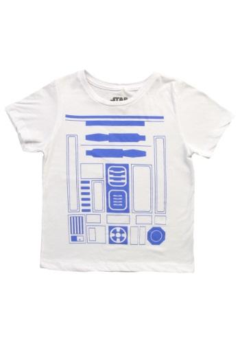 Boys I'm R2D2 Costume Camiseta Front