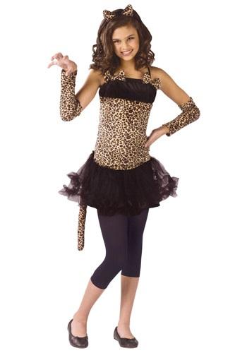 Disfraz de gato salvaje para niños