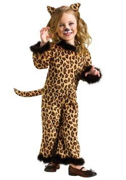 Disfraz de leopardo lindo para niños pequeños