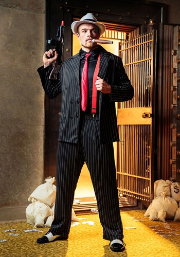 Disfraz de jefe de la mafia para hombre