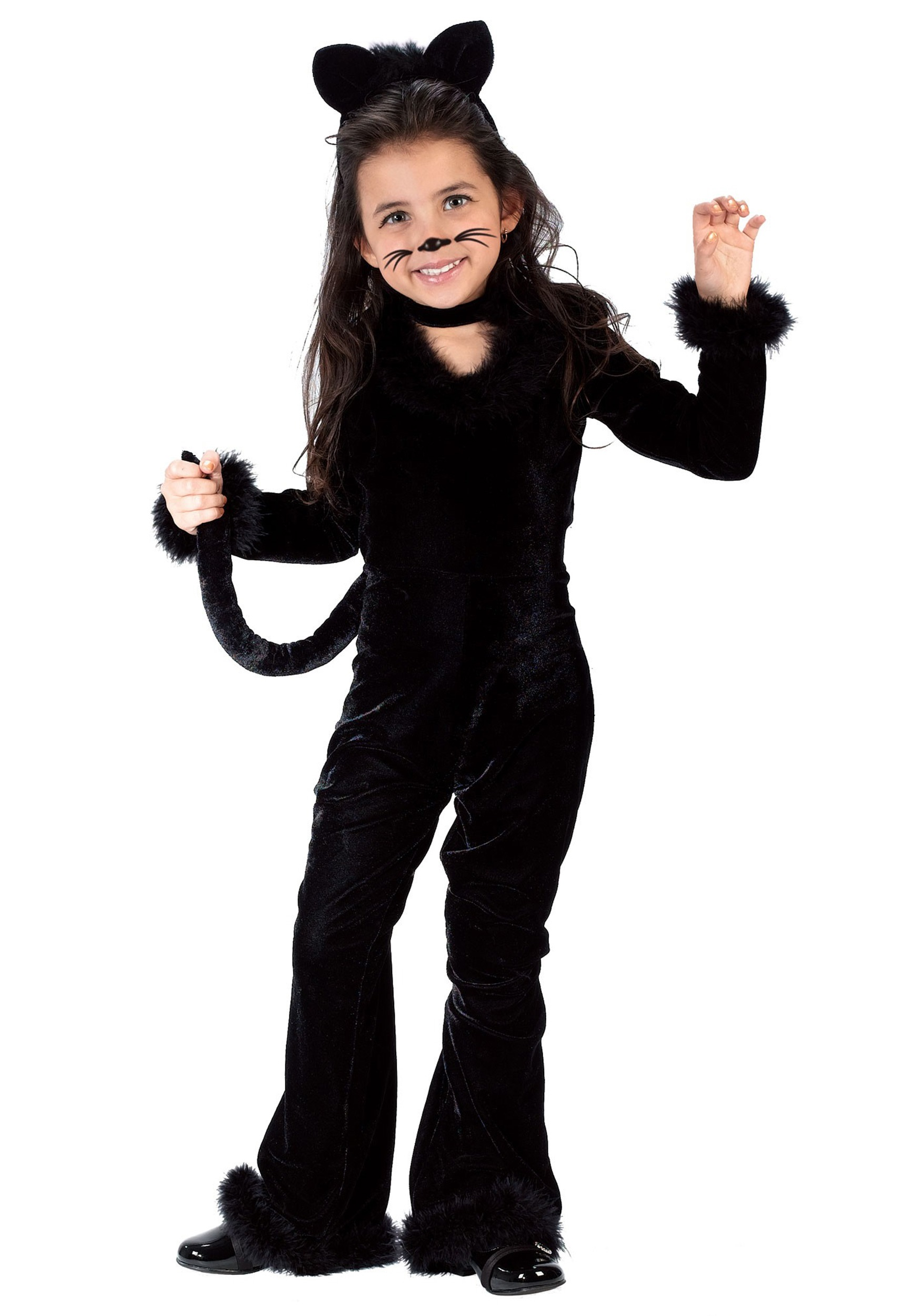 2d17eb074 Disfraz de gatito juguetón para niños pequeños