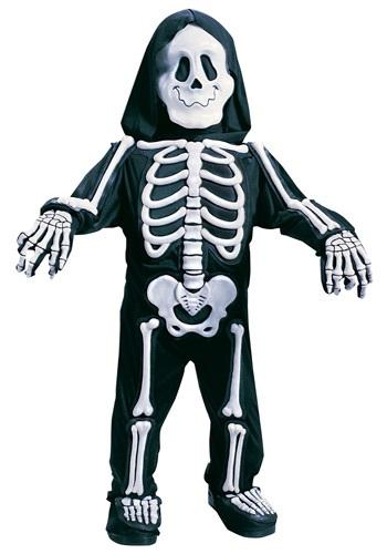 Disfraz de esqueleto blanco para niños