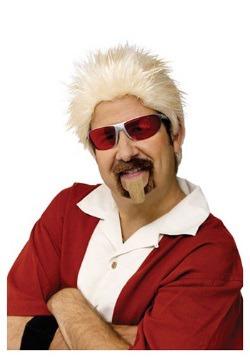 Juego de peluca y barba de chivo de Chef celebridad