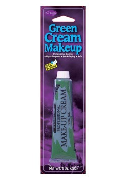 Maquillaje profesional  en crema - Verde