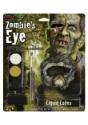 Kit de maquillaje de látex para ojos de Zombie