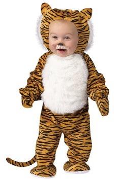 Disfraz de Tigre mimoso para niños pequeños
