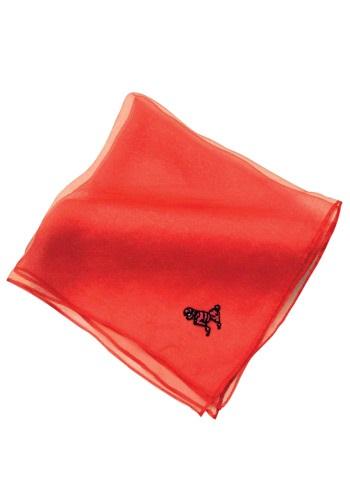 Bufanda roja de Poodle