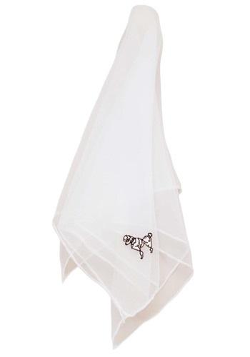 Bufanda de Poodle blanco