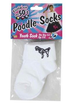 Calcetines de poodle para niños