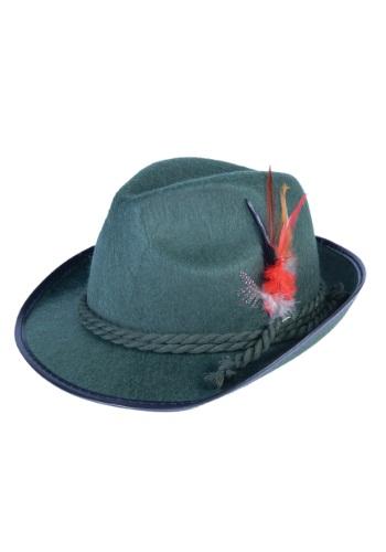 Sombrero verde de Oktoberfest