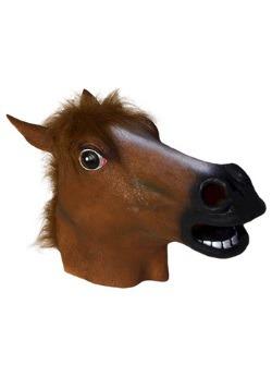 Máscara de látex de caballo de lujo