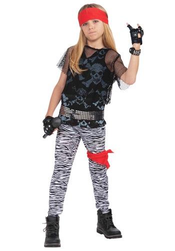 """Disfraz """"Rock Star"""" de los 80 para niño"""