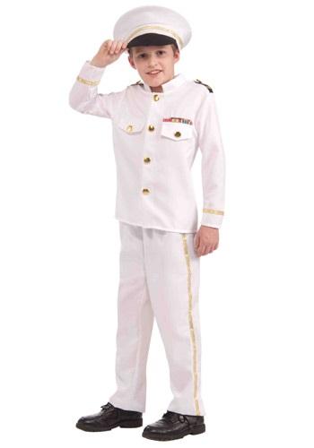 Disfraz de almirante de marina para niños